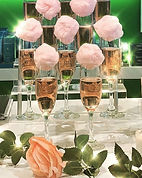 Our Cotton Candy Champagne Bars are a bi