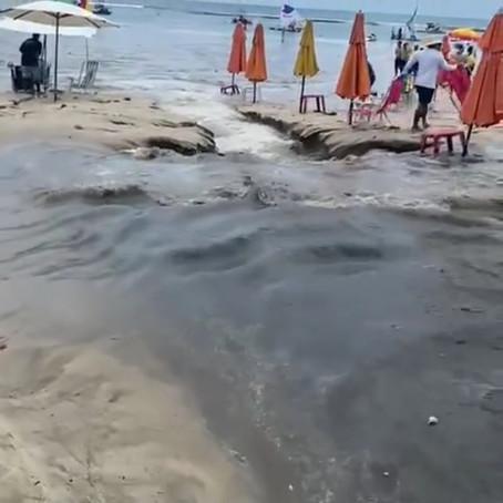 POLUIÇÃO DO OCEANO E A CRISE NA FALTA DE ESGOTAMENTO SANITÁRIO