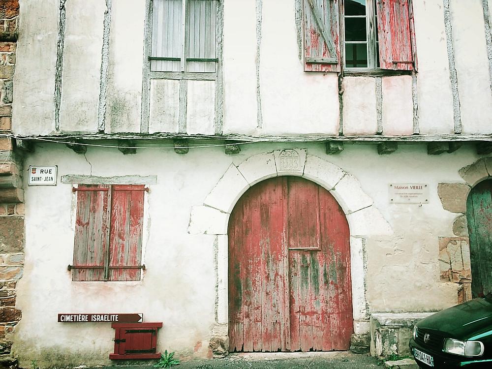 Arquitectura tradicional País Vasco Francés. La Bastide Clairence.