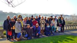 Un grupo memorable en Biarritz.