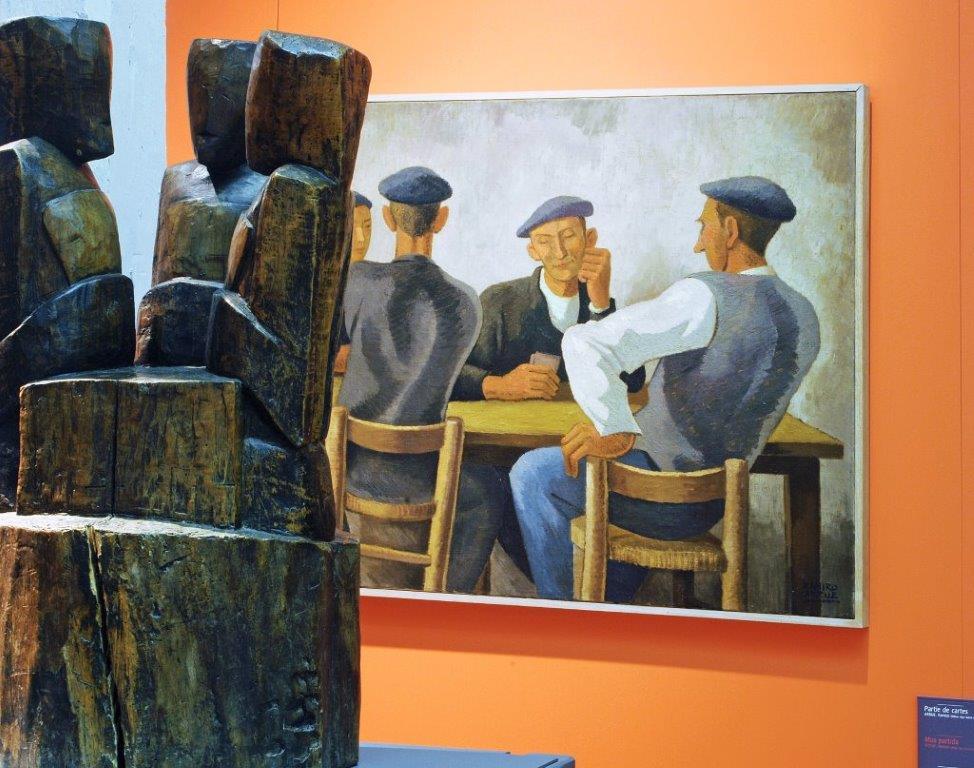 Detail de la colection du Musée Basque. Crédits: Musée Basque et de l'histoire de Bayonne.