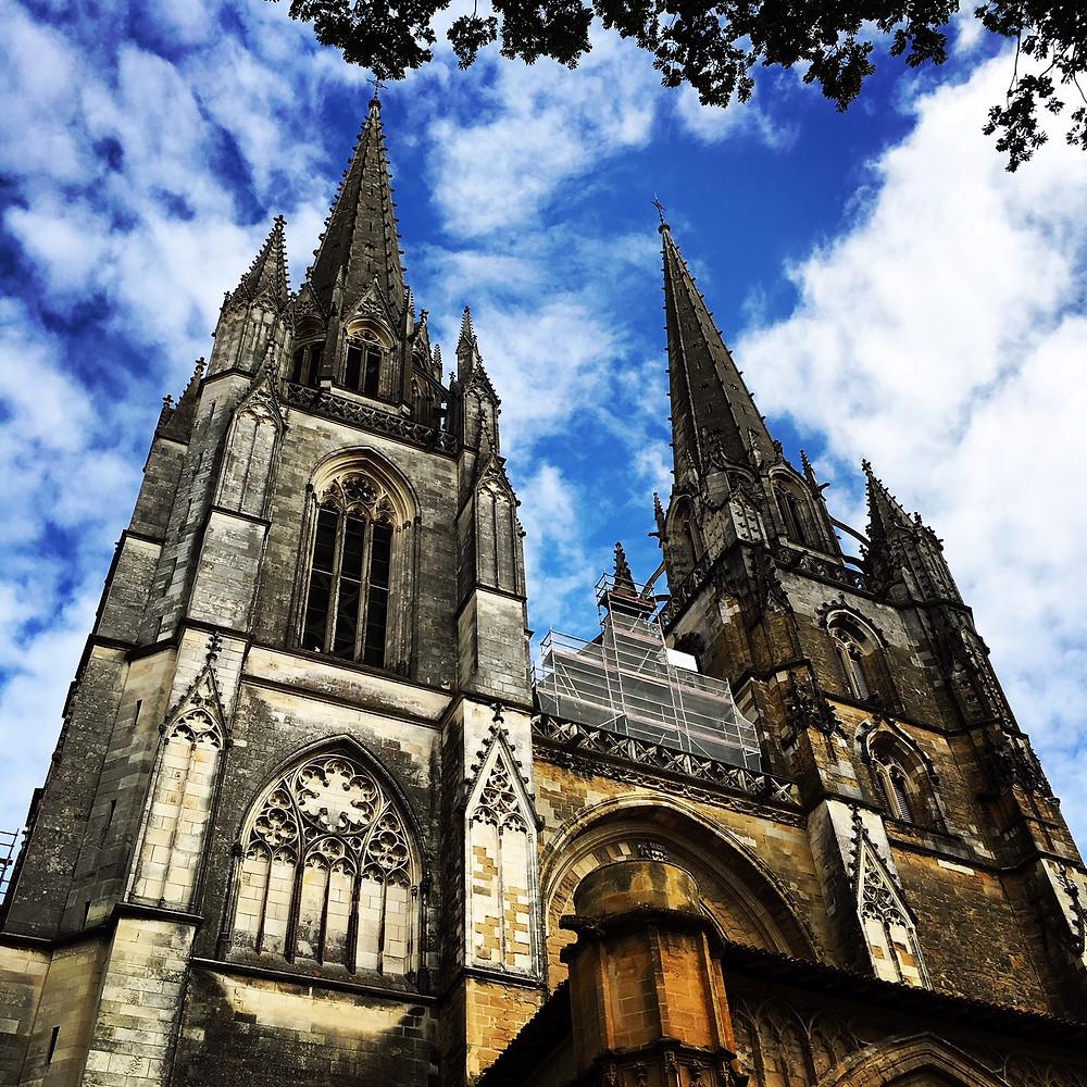 La Catedral de Bayona. Patrimonio de la Humanidad.