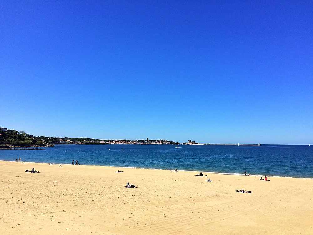 Beach of Saint Jean de Luz. Guided Tours French Basque Country.