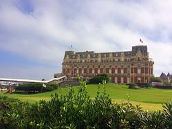 El Hôtel du Palais de Biarritz