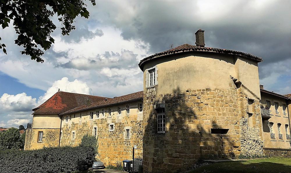 """El """"Chateaux Vieux"""" de Bayona"""