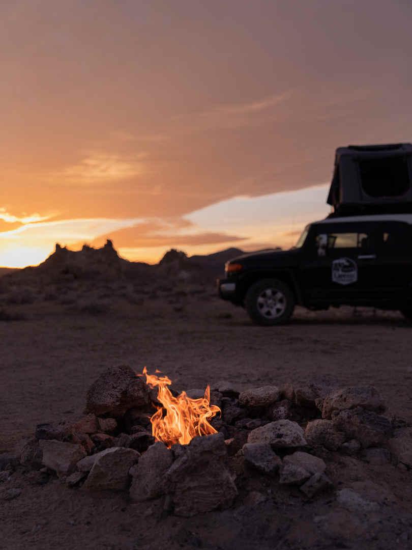 4WD Toyota Camper Rental