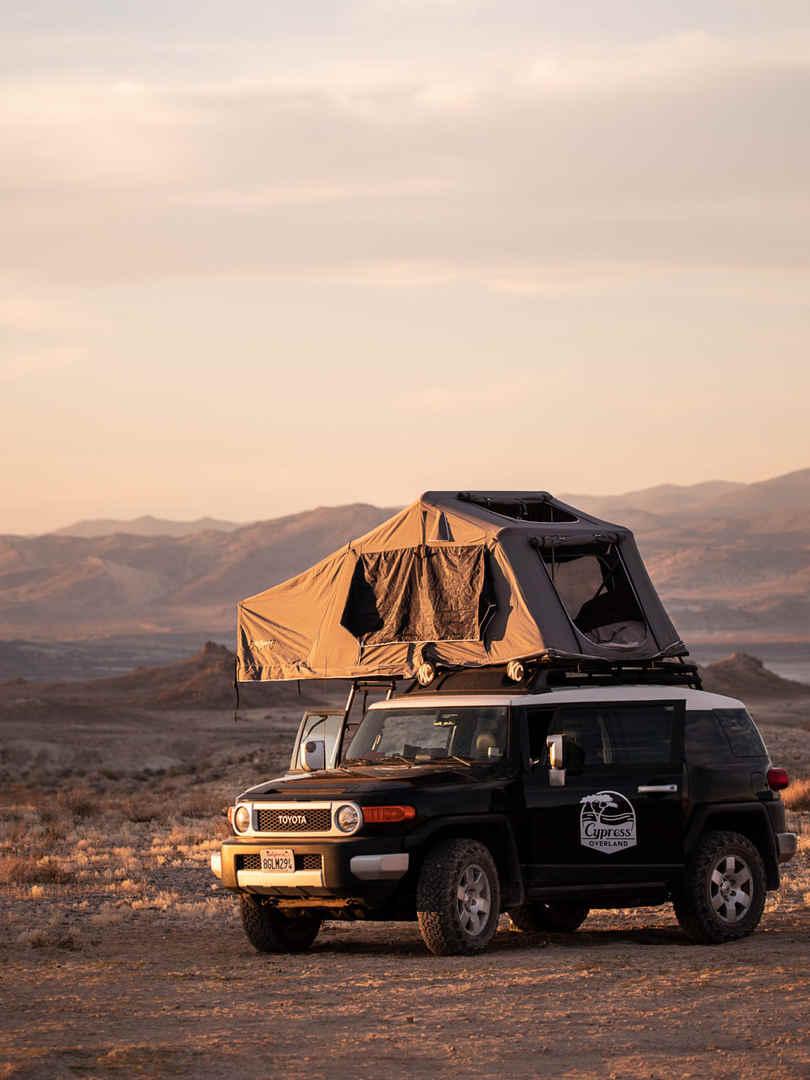 Toyota Roof Top Tent Camper Rental