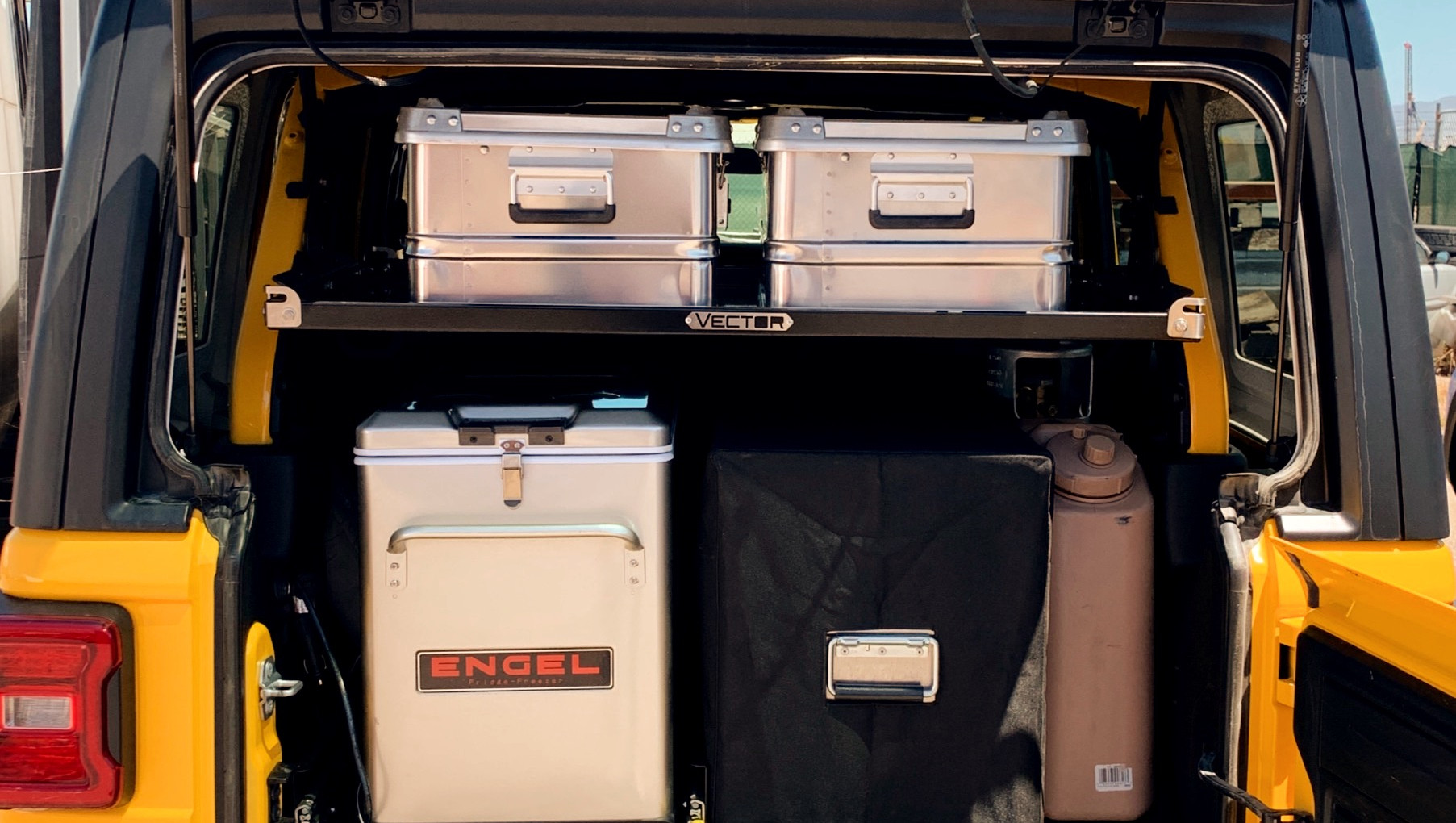 Jeep Gear Organization