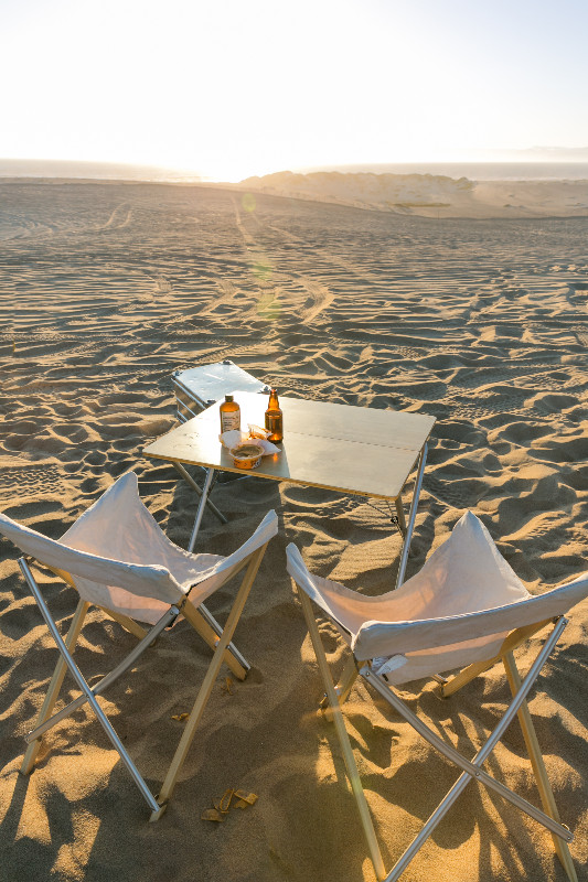 Overland chairs and table