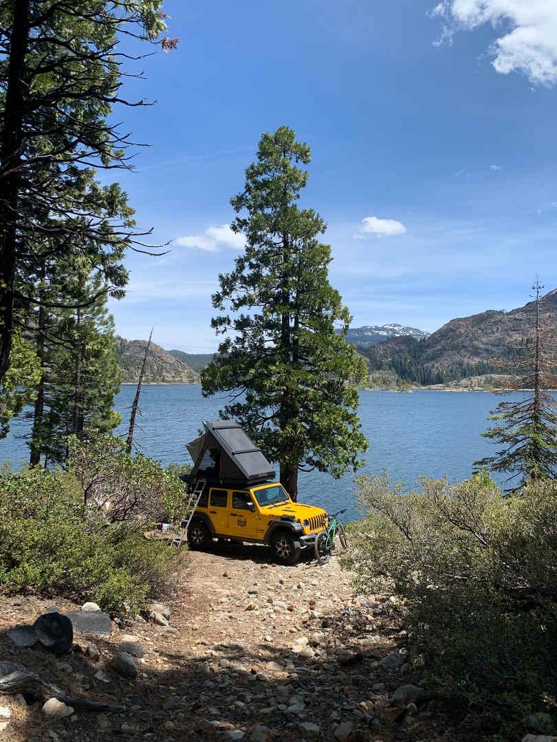 4x4 Lake Camping California