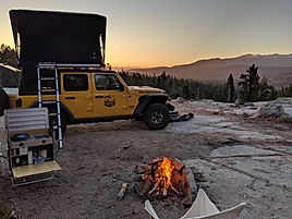 High Sierras and Kaiser Pass overland car camping