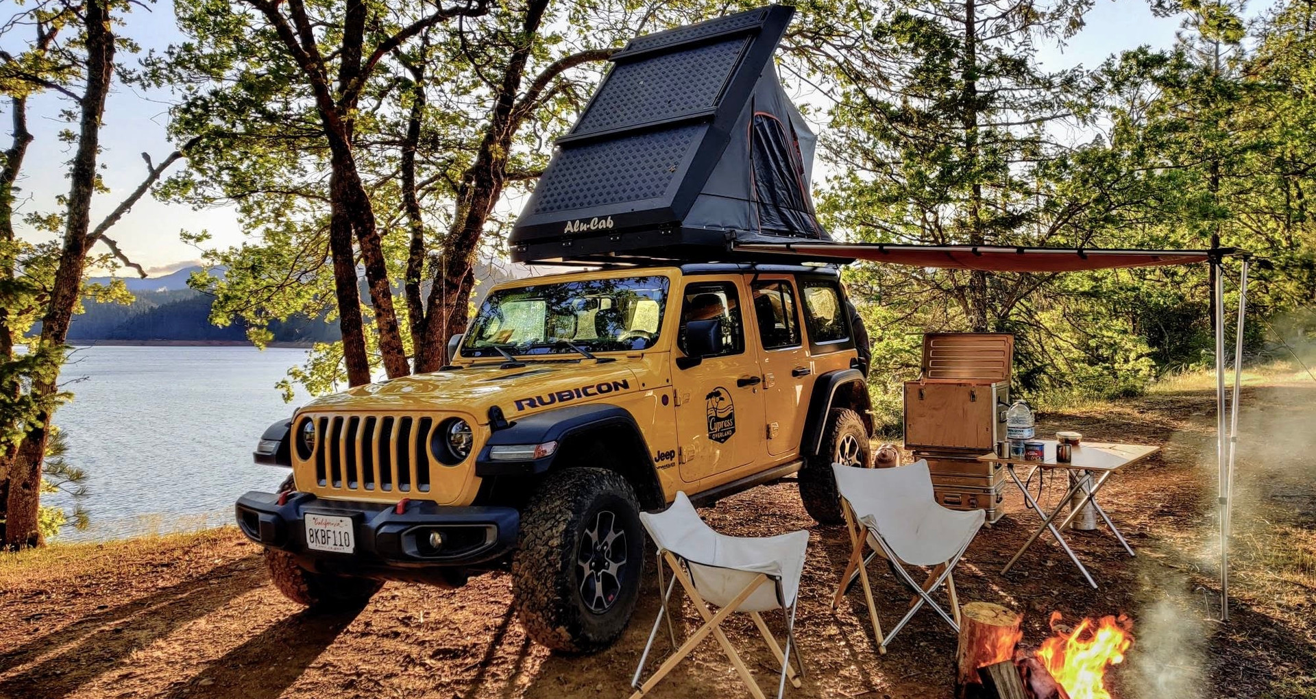 Jeep Campervan Rental