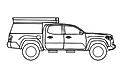 Toyota Tacoma GFC Camper