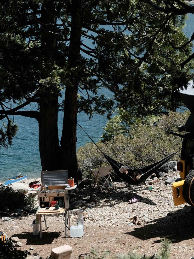 Bowman Lake Camping
