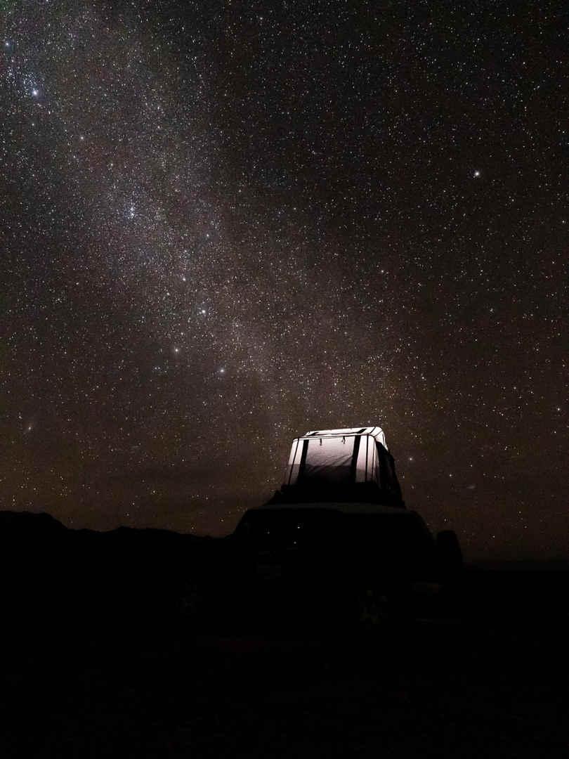 Roof Top Tent Campervan Rental