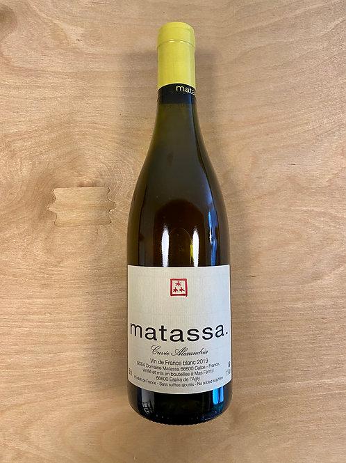 IGP Cotes Catalanes 'Cuvée Alexandria' - Matassa - 2019