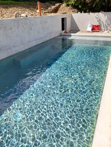 Piscine de type couloir de nage