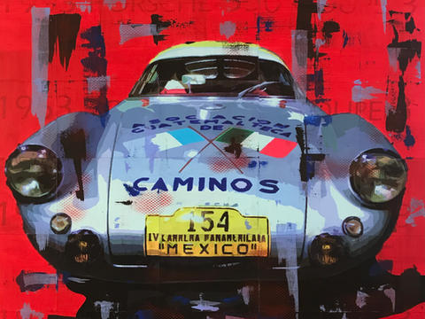1953 Porsche 550 Coupe 3