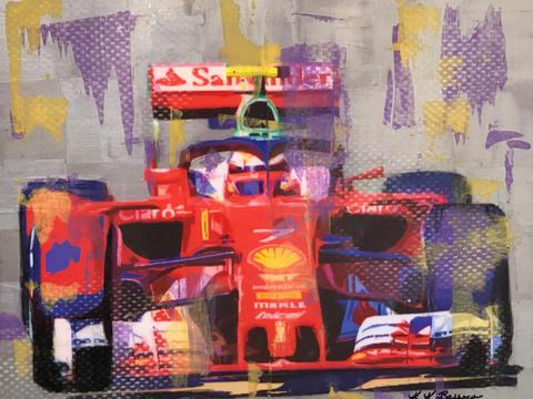 Lucky #7 Ferrari