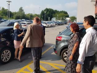 Obisk ministrice, mag. Ksenije Klampfer na Socialni zbornici Slovenije