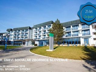 XXV. Dnevi Socialne zbornice Slovenije