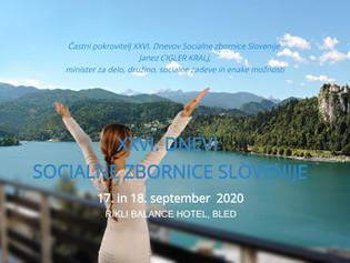 XXVI. dnevi Socialne zbornice Slovenije