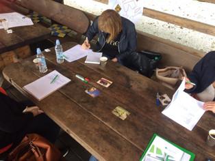 Zbornica izvaja seminarje tudi v »predavalnici na prostem«
