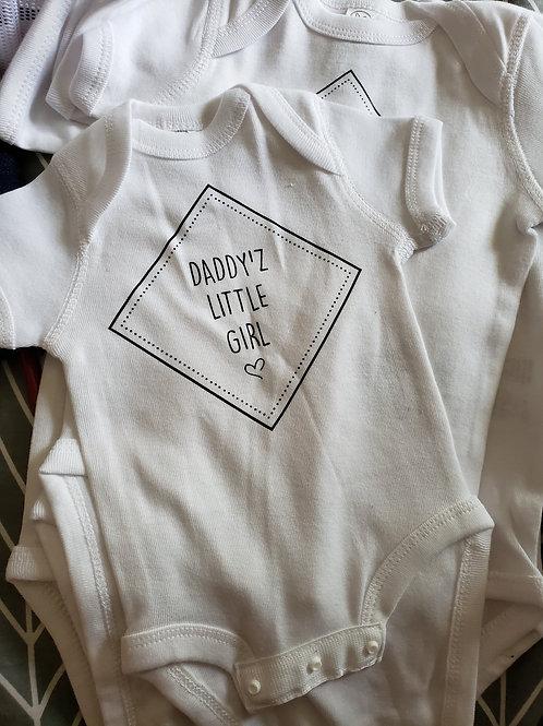Daddy'z Little Girl Onezie