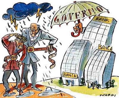 I salvataggi alle banche italiane: spunti e riflessioni