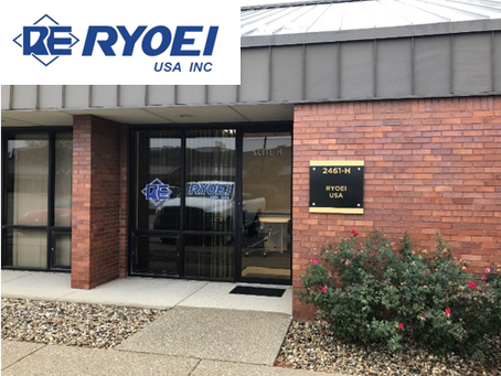 RYOEI U.S.A. INC. 仮オフィス開設