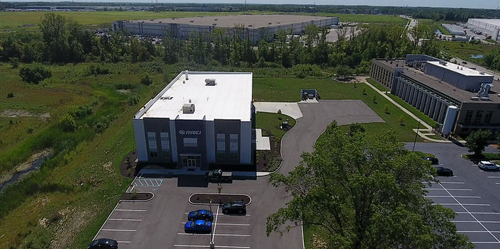 RYOEI USA Drone Video of Indianapolis Plant