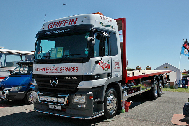 Actros at Truck Show