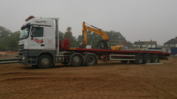 Actros on site