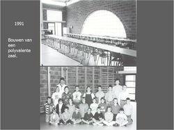 Bouw van een polyvalente zaal '91