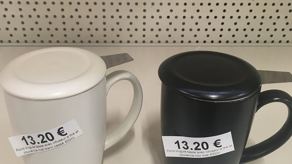 Tasse avec infuseur 400ml