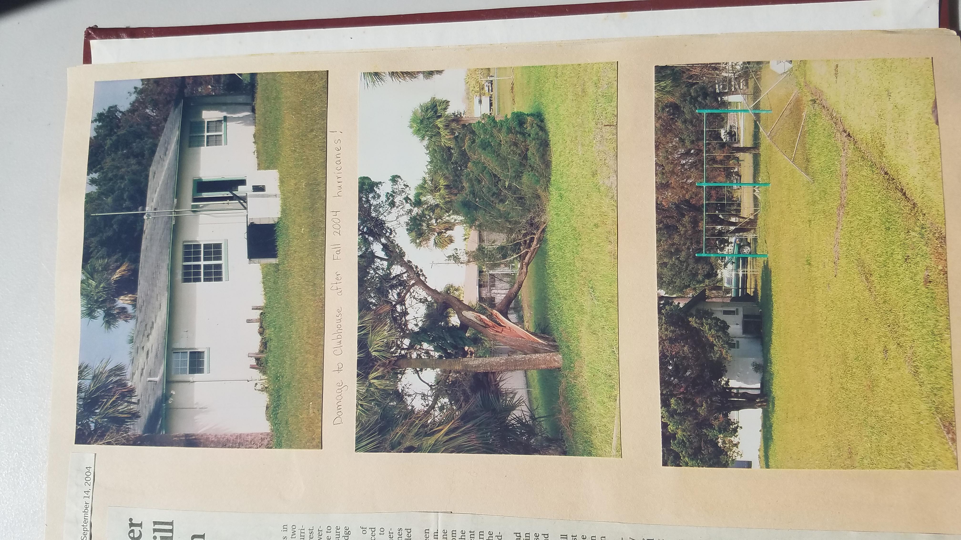 2004 Hurricane Damage