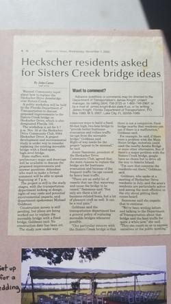 Sisters Creek Bridge