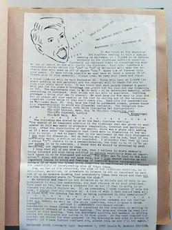 1980 Newsletter