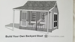 Plans for New Shed 2019
