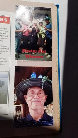 Easter Hat Winners
