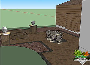 Paver patio design in Sullivan Windsor Bethany Mattoon Shelbyville