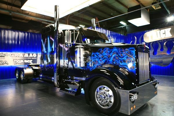 trucker gifts trick my truck big rig 6.j