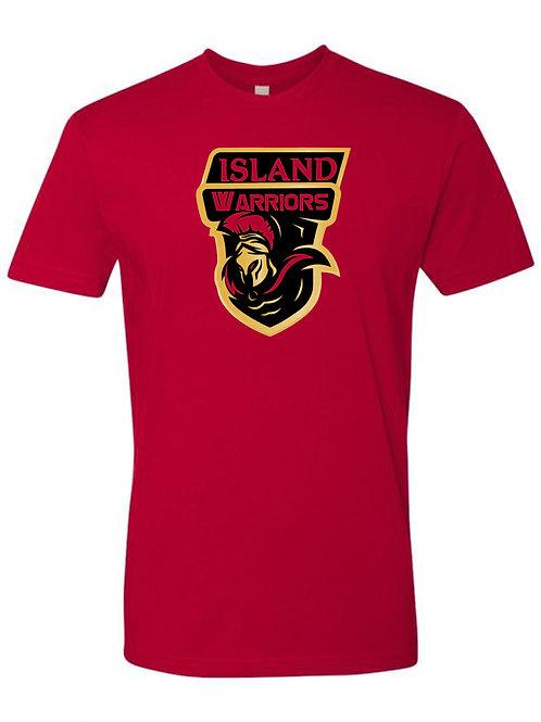 Island Warriors Plain T-shirt : Red