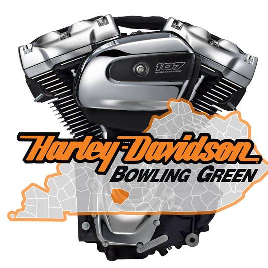 Kid Kentucky & the American bad ass band kid rock tribute show Harley Davidson Bowling Green logo