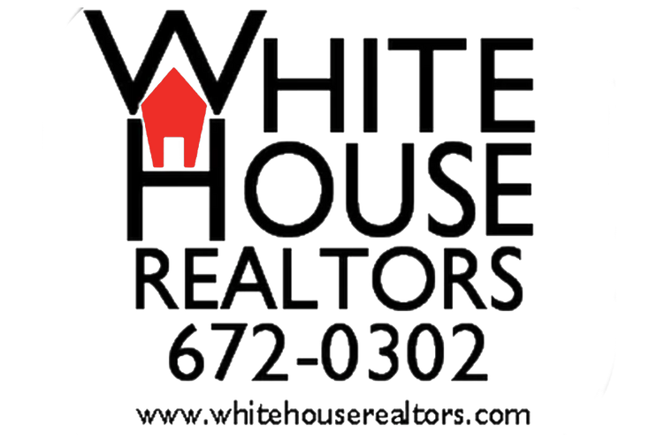 White House On Fire Realtors Logo