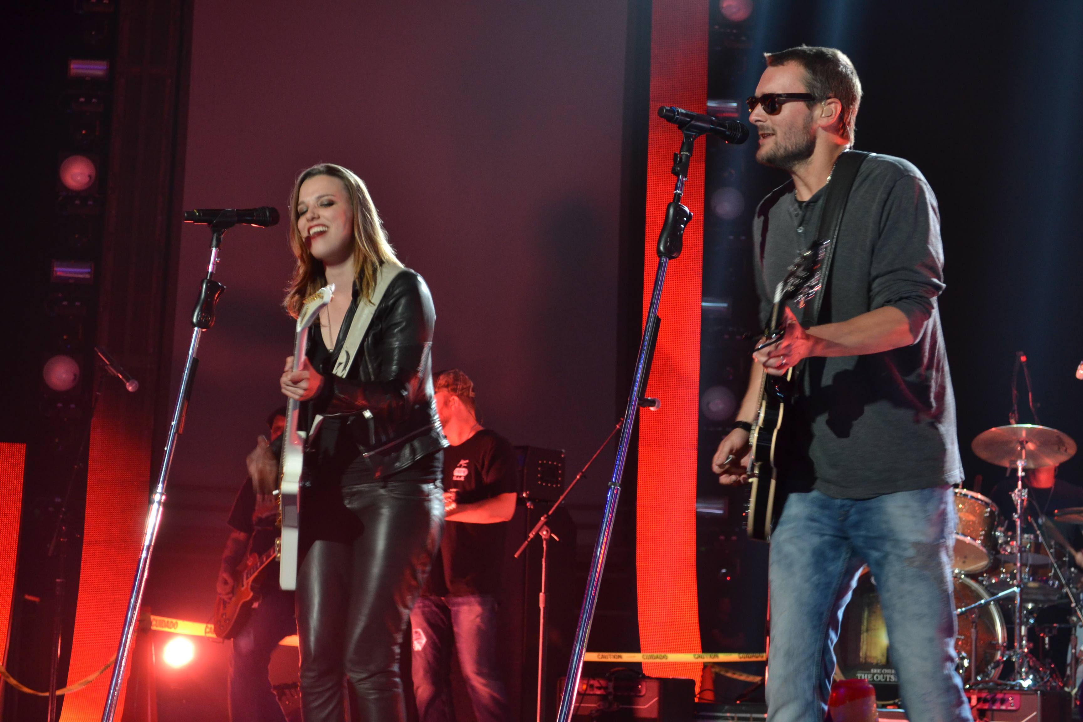 Lizzy Hale Eric Church by nashville