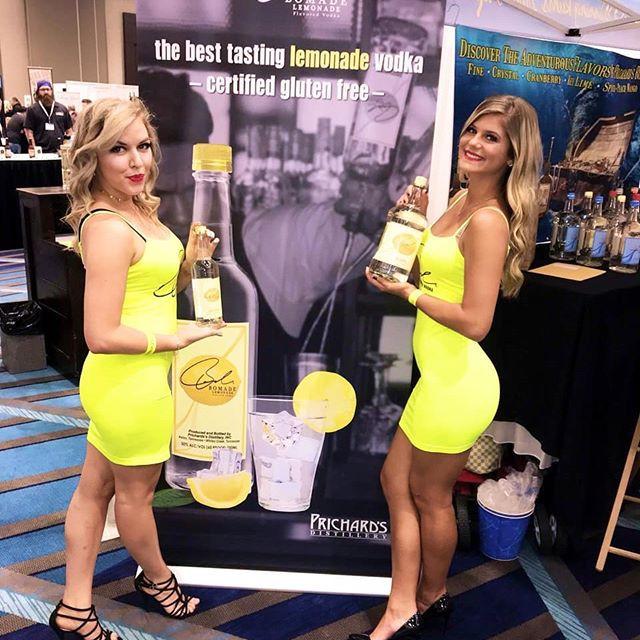 promotional models event staffing slides