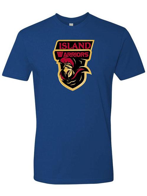 Island Warriors Plain T-shirt : Blue