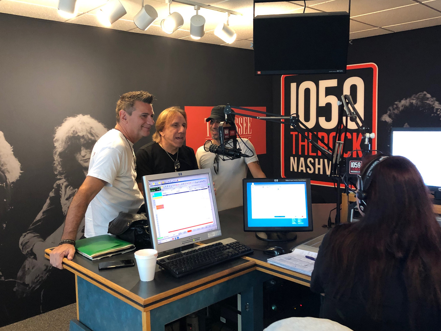 White House On Fire 105.9 the rock - IMG