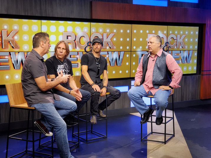 White House On Fire FOX17 Taping - Eric